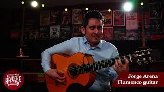 Online Flamenco guitar concert at Heldeke Baar (Tallinn) 04.04.2021