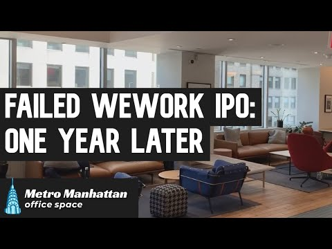 Failed WeWork IPO: One Year Later