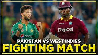 Fighting Match | West Indies vs Pakistan | 2nd T20I | Full Match Highlights | MA2E