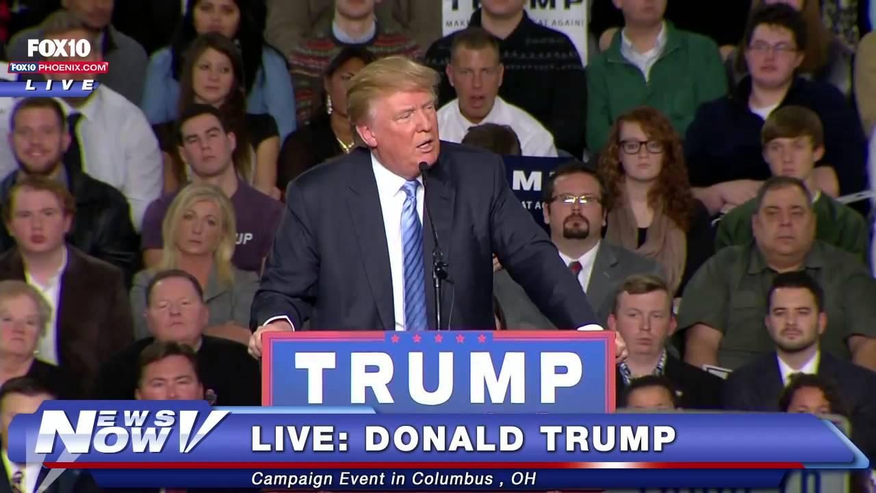 FNN: FULL Donald Trump Rally in Columbus, OH 11-23-15 - YouTube