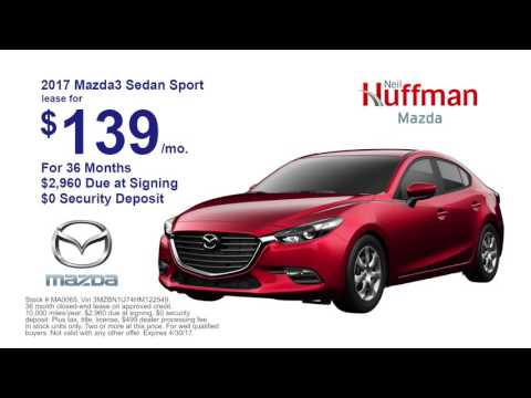 Neil Huffman Mazda | April 2017 Lease Offers