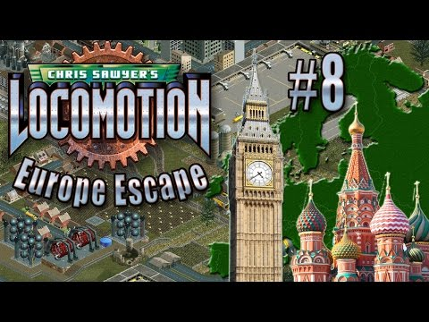 Chris Sawyer's Locomotion: Europe Escape - Ep. 8: LONDON TO MOSCOW