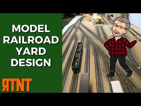 Model Railroad Yards–Design for Operations