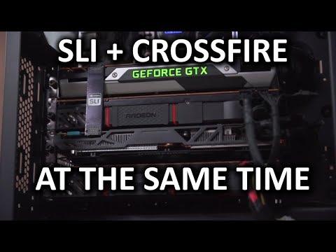 SLI & Crossfire in Same PC!