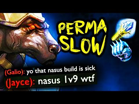 WTF... rylai's rush nasus is ridiculously strong???