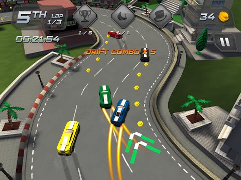 """LEGO® Speed Champions """"Racing Games"""" Android Gameplay Video"""