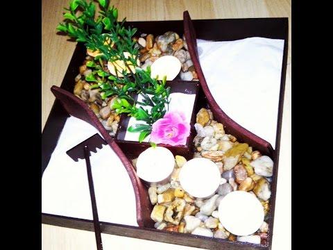 Como hacer un jardin zen diy youtube - Hacer jardin zen ...