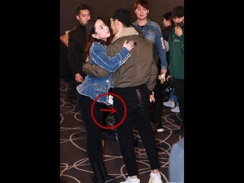 Only 1 action when hugging Huang Xiaoming, Liu Yifei received countless praise from netizen