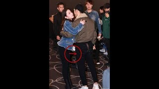 Only 1 action when hugging Huang Xiaoming, Liu Yifei received countless praise from netizen