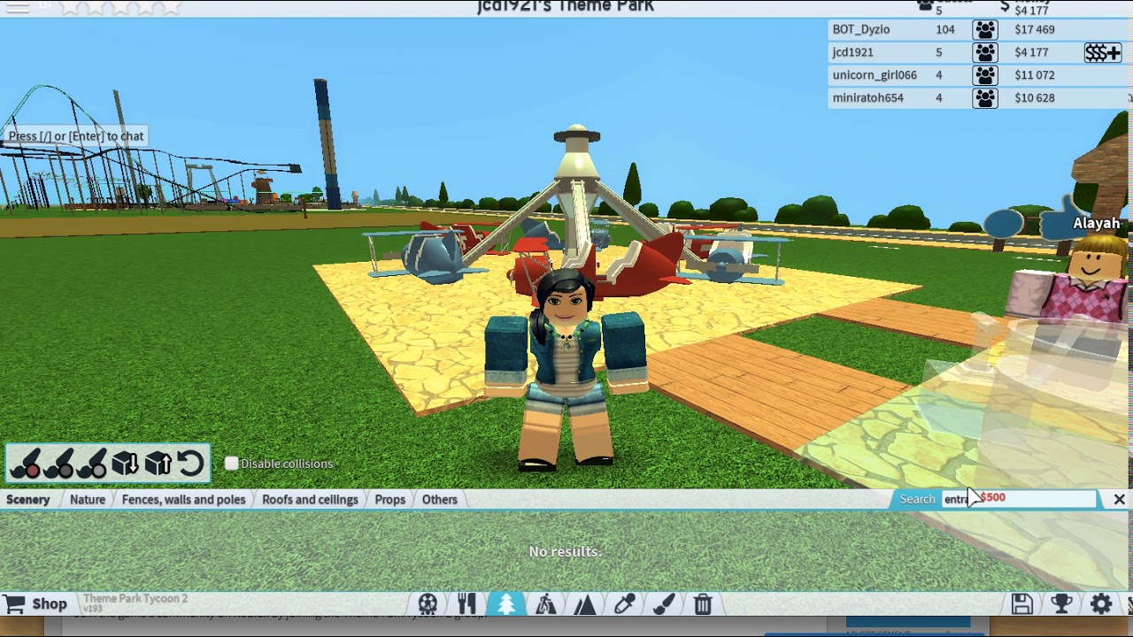 Roblox Theme Park Online Gaming - roblox online game youtube