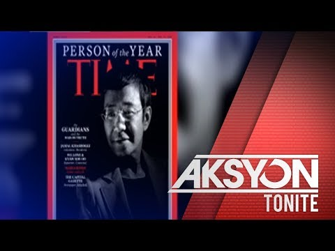 Rappler CEO Maria Ressa, pasok sa Persons of the Year ng Time Magazine