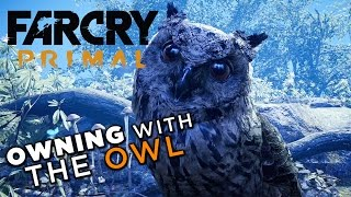 Using the Owl to Vanquish Your Enemies! - Far Cry Primal Gameplay