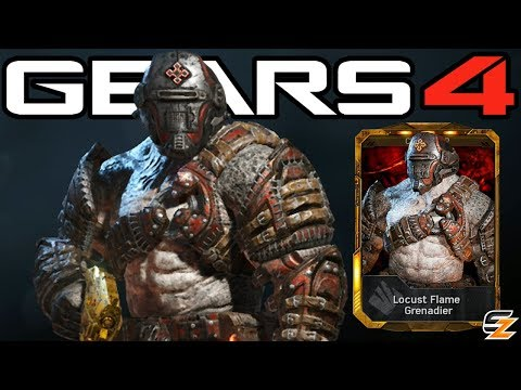 "Gears of War 4 - ""Locust Flame Grenadier"" Character Multiplayer Gameplay!"