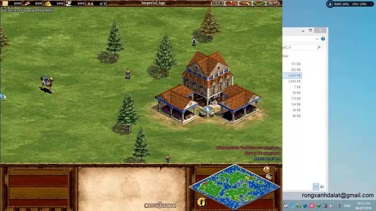 Age Of Empires Ii Fix Error Full Screen Win 10 Youtube