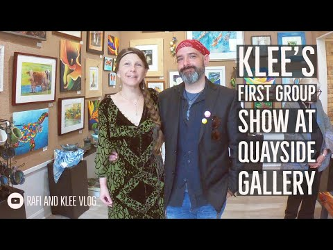 Klee's First Group Show At Quayside Gallery