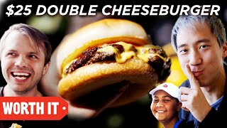 Download $7 Double Cheeseburger Vs. $25 Double Cheeseburger Mp3 and Videos