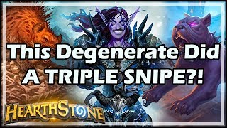 This Degenerate Did A TRIPLE SNIPE?! - Boomsday / Hearthstone