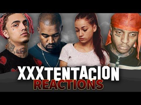 ARTISTS REACT TO XXXTENTACION'S PASSING ( Lil Pump, Lil Tay, Tekashi, Kanye West)