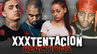 ARTISTS REACT TO XXXTENTACION'S PASSING ( Lil Pump, Lil Tay, Tekashi, Kanye West) thumbnail