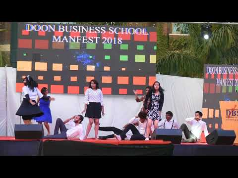 Retro dance, manfest2k18, Doon business school Dehradun