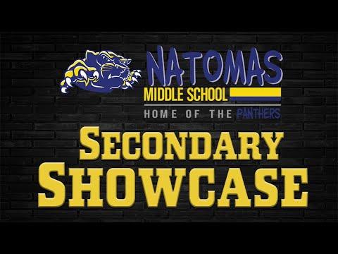 Natomas Middle School Secondary Showcase 2020