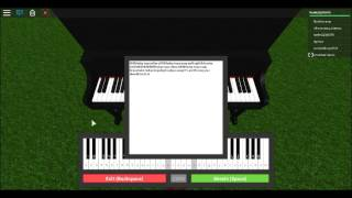 me playing the piano on roblox (easy song)
