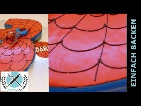 Spinnennetz Auf Torte Malen Einfacher Tipp Auf Torten Schreiben