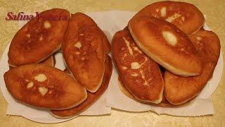 Пирожки. Вкусные пирожки с картошкой, грибами и луком - нежные, с хрустящей корочкой!