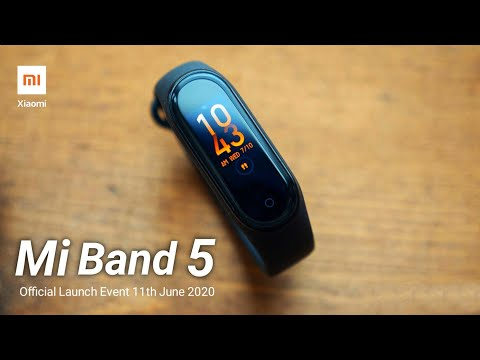 Xiaomi Mi Band 5 | Official Launch Event | Alexa Voice Assistant, NFC, Amoled Display 🔥🔥🔥