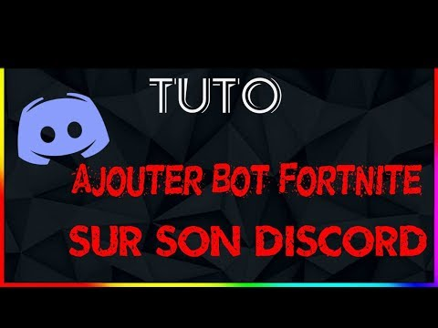 Ajouter Le Bot Fortnite Stats Et Fortnite Shop Discord