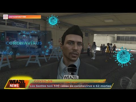 Coronavírus GTAV GTA 5 - WEAZEL NEWS LOS SANTOS