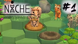 Niche Let's Play! The Very Beginning! -v 0.3- Episode 1