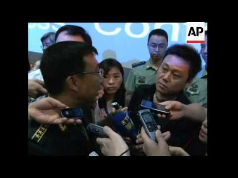 Def Ministry presser; sots on South China Sea