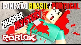 O melhor jogo roblox - Murder Mystery Brasil/Portugal