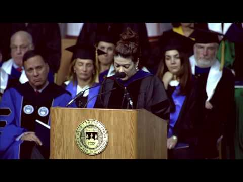Christine Ortiz: Brandeis University's 9th Presidential Inauguration