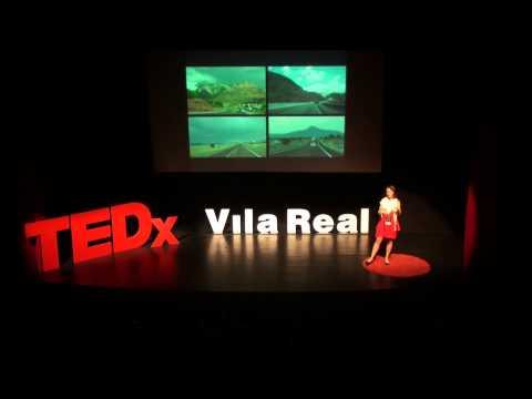 Encontrar a Psicologia Positiva nas histórias nos dias | Edite Amorim | TEDxVilaReal