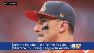 Johnny Manziel To Play In Spring League Scouting Event