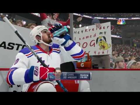 NHL® 18 N.Y Rangers vs Washington Capitals