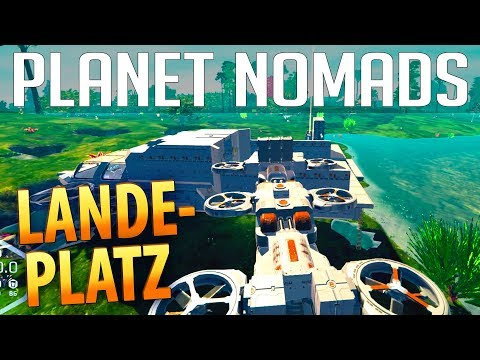 PLANET NOMADS #035 | Container & Ladeplatz | Gameplay German Deutsch