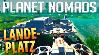 PLANET NOMADS #035 | Container & Ladeplatz | Gameplay German Deutsch thumbnail