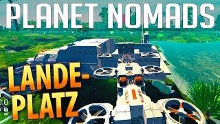 PLANET NOMADS #035 | Container & Ladeplatz | Gameplay German Deutsch thumbnail