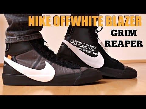 black blazer off white