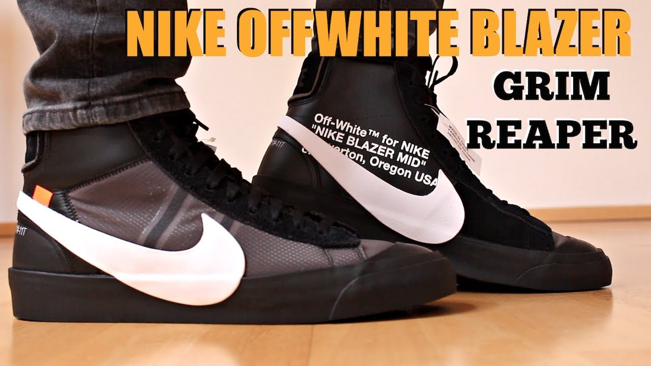 b642dc8d03bc NIKE OFF WHITE BLAZER GRIM REAPER REVIEW - YouTube