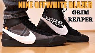 Formular procedimiento Hermana  NIKE OFF WHITE BLAZER GRIM REAPER REVIEW - YouTube