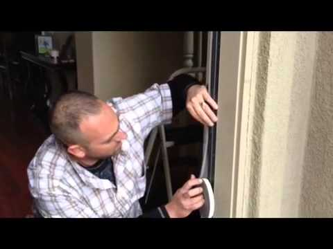 How To Install Weatherstrip To The Front Door Youtube
