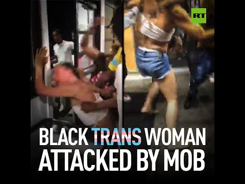 Black trans woman BRUTALLY attacked by mob in Minnesota
