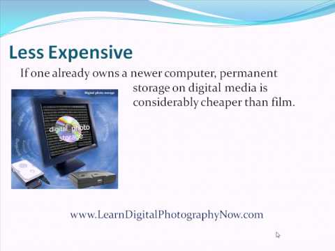 The Many Advantages Of Digital Photography Revealed