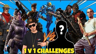 ISSUING A CHALLENGE TO ALL MY SUBS & FOLLOWERS | WHO WANTS SMOKE ? 1v1 ME IN ANY GAME #FunStream