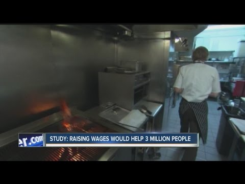 Study: Raising minimum wage could help millions