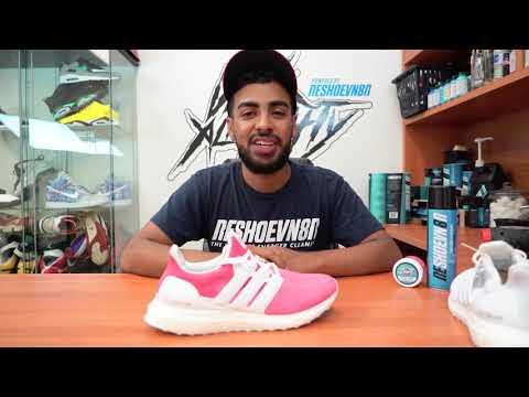 Restorations with Vick - Pink Adidas Ultra Boost Custom